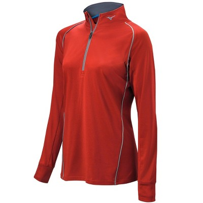 Mizuno Women's Comp 1/2 Zip Long Sleeve Pullover