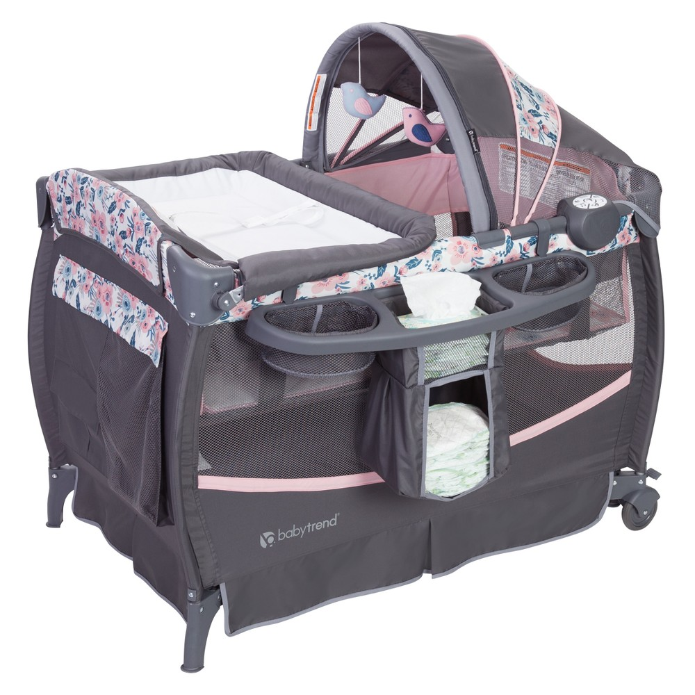 Image of Baby Trend Deluxe II Nursery Center - Bluebell