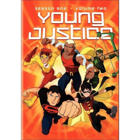 Young Justice: Season One, Vol. 2 (dvd_video) - image 1 of 1
