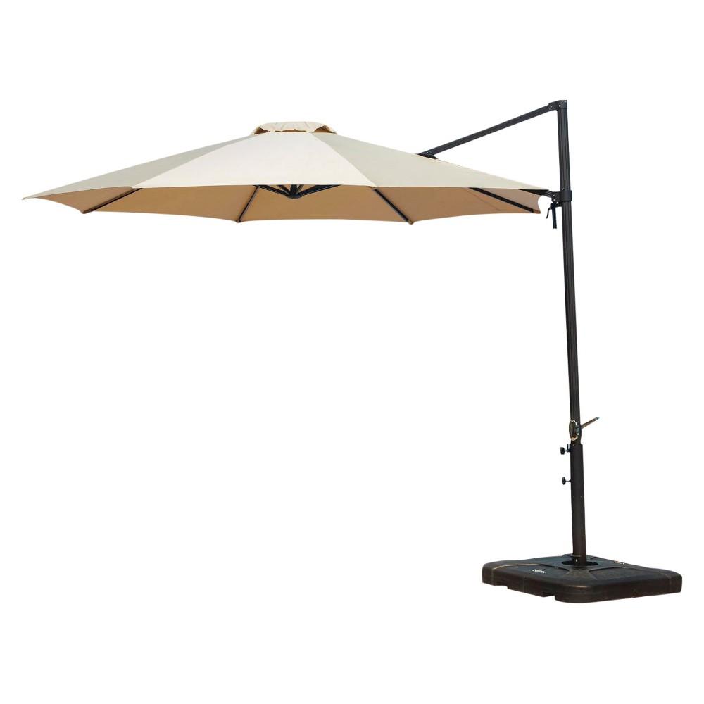 Image of 13' Cantilever Umbrella - Tan - Hanover