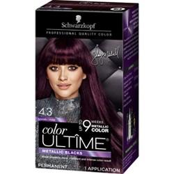 Schwarzkopf Color Ultime Metallic Violet Permanent Hair Color - 5.7oz