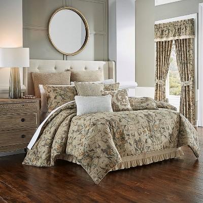 Waverly Voleterra Queen 4pc Comforter Set Multi