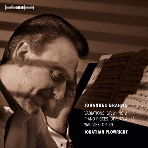 Jonathan plowright - Brahms:Complete solo piano music v3 (CD) - image 1 of 1