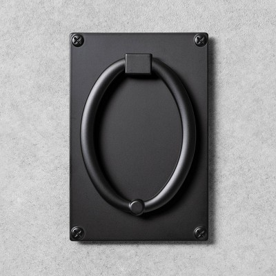 Metal Door Knocker Black - Hearth & Hand™ with Magnolia