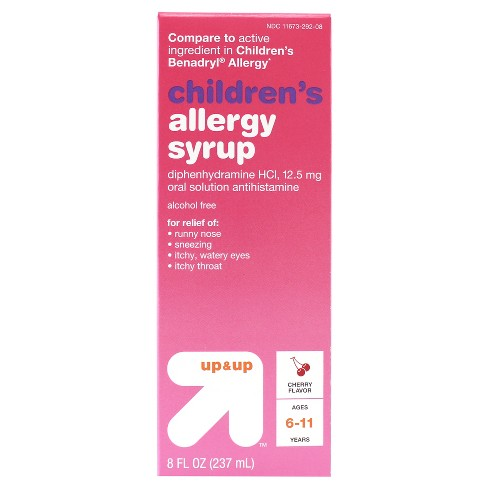 Children's Diphenhydramine HCI Allergy Relief Liquid - Cherry - 8 fl oz - Up&Up™ - image 1 of 1