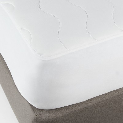 Full Machine Washable Cooling Waterproof Mattress Pad - Room Essentials™