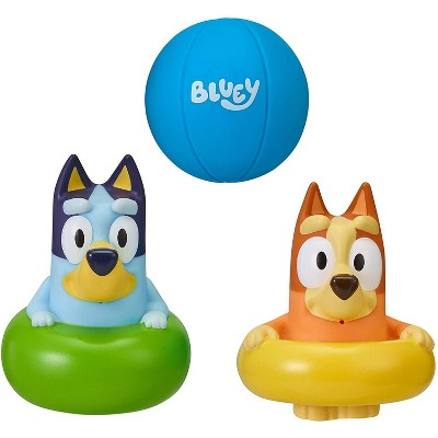 Moose Toys Bluey Bath Squirters 3 Pack – Series 4