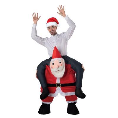 Adult Carry Me Santa Adult Halloween Costume