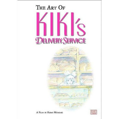 The Art of Kiki's Delivery Service - by Hayao Miyazaki (Hardcover)