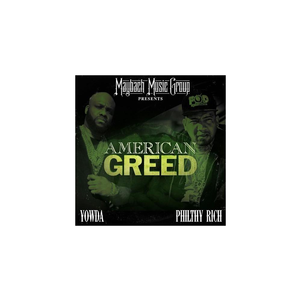 Yowda - American Greed (CD)