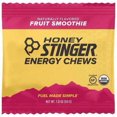 Honey Stinger Organic Fruit Smoothie Nutrition Energy Chews