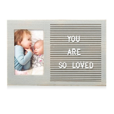 "Pearhead Letterboard 4"" x 6"" Photo Frame"