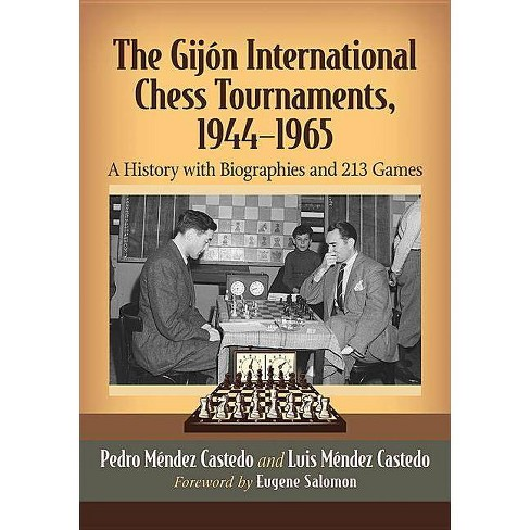 The Gijon International Chess Tournaments, 1944-1965 - by  Pedro Mendez Castedo & Luis Mendez Castedo - image 1 of 1