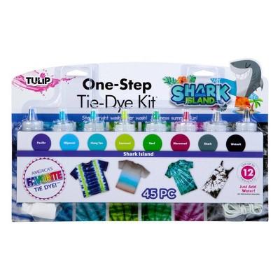 Tulip 45pc One-Step Tie-Dye 8 Color Kit - Shark Island