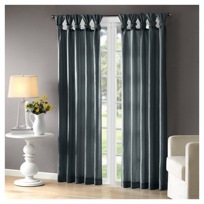 Lillian Twisted Tab Light Filtering Lined Curtain Panel by Shop This Collection