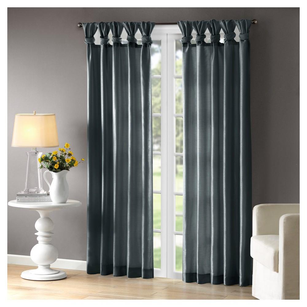 Lillian Window Curtain Teal (Blue) 50x120