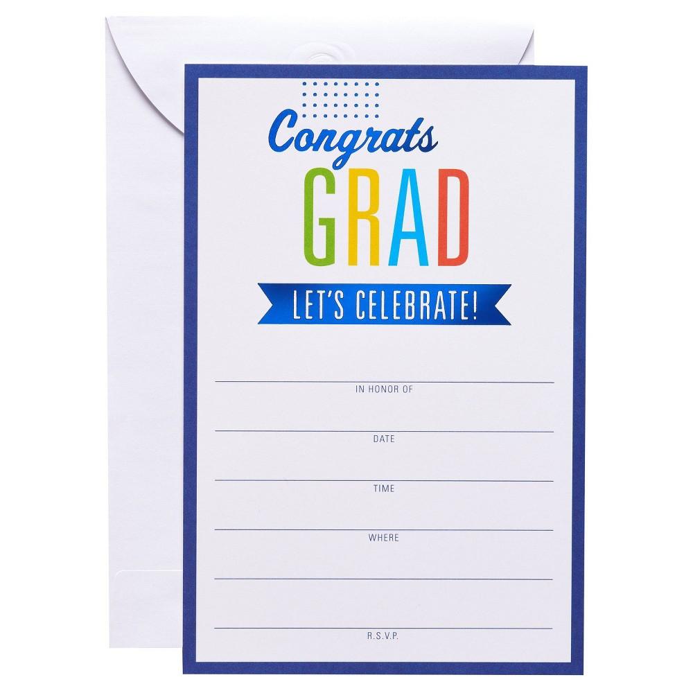 25ct Graduation Invitation Or Graduation Party Cards
