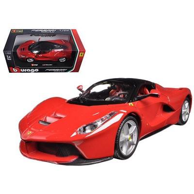 Ferrari Laferrari F70 Red 1/24 Diecast Model Car by Bburago