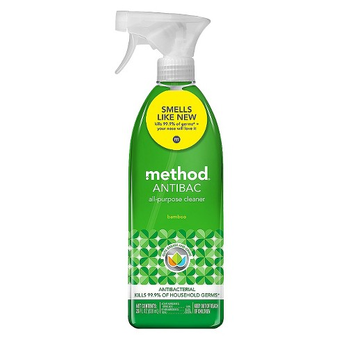 Method Cleaning Products Antibacterial Cleaner Bamboo Spray Bottle 28 fl oz - image 1 of 1