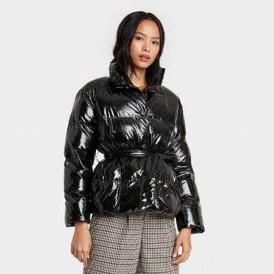 Women's Tie Waist Puffer Jacket - Who What Wear™