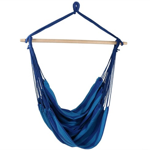 Beach Oasis Jumbo Hanging Rope Hammock Chair Swing Target
