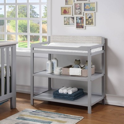 Suite Bebe Hayes Changing Table - Gray/Weathered Granite