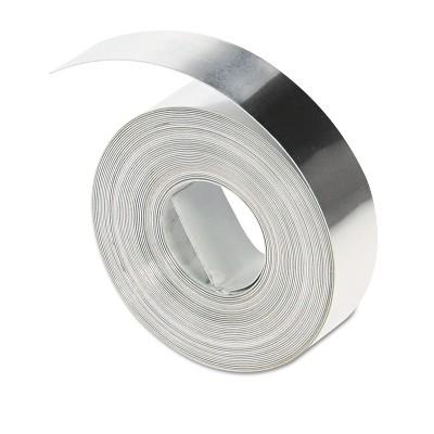 "DYMO Rhino Metal Label Non-Adhesive Tape 1/2"" x 16 ft. Aluminum 31000"
