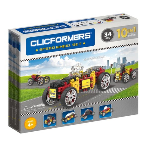 Clicformers Speed Wheel Building Set - 34pc - image 1 of 2