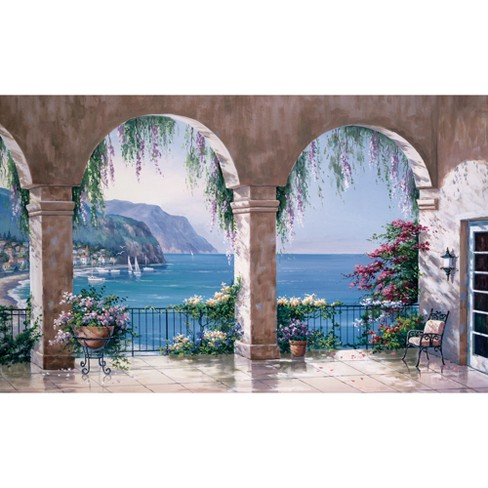 Mediterranean View Wall Mural - image 1 of 3