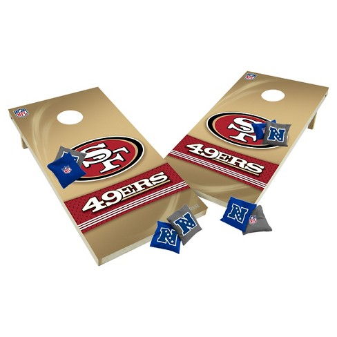 NFL San Francisco 49ers Wild Sports Tailgate Toss 2x4 Platinum Shield - image 1 of 1