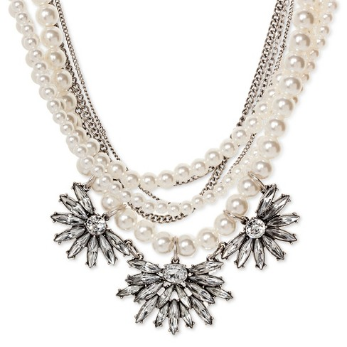 SUGARFIX by BaubleBar™ Layered Pearl Necklace - Pearl - image 1 of 2