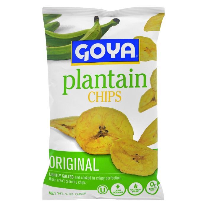 Goya Lightly Salted Original Plantatin Chips - 5oz - image 1 of 3
