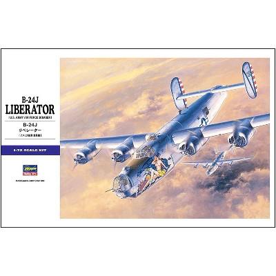 Hasegawa 1/72 B-24J Liberator E29 Plastic Model Kit