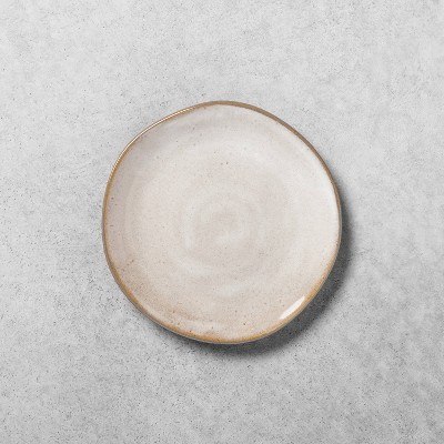 Stoneware Reactive Glaze Appetizer Plate - Hearth & Hand™ with Magnolia