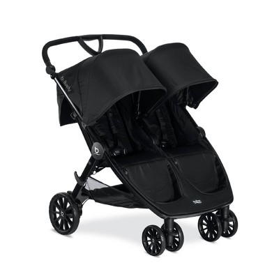 Britax B-Lively Double Stroller - Raven