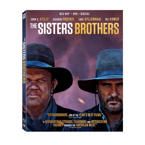 Sisters Brothers,The (Blu-Ray + DVD + Digital) - image 1 of 1