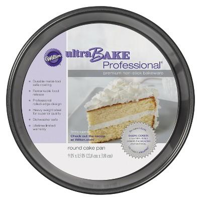 """Wilton 9"""" Nonstick Ultra Bake Professional Round Cake Pan"""