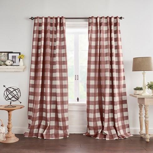 Grainger Buffalo Check Blackout Window Curtain Panel - Elrene Home Fashions - image 1 of 2