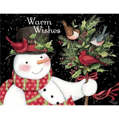 18ct Snowman & Friends Holiday Boxed Cards