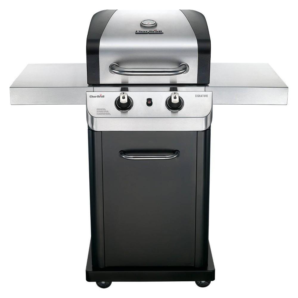 Char-Broil Signature 2 Burner Cabinet 350 Gas Grill 463675517 Black