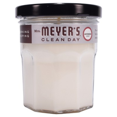 Mrs. Meyer's Clean Day Scented Soy Candle Lavender Candle - 4.9oz