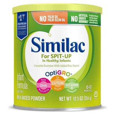 Similac for Spit Up Infant Formula with Iron Powder - 12.5oz