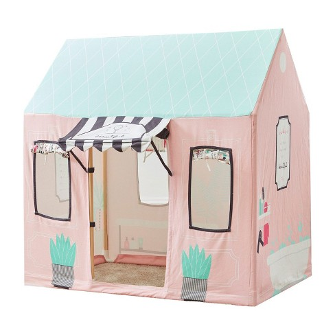 Wonder&Wise Indoor 32 x 44 x 45 Inch Childrens Kids Cotton Fabric Beauty Salon Pretend Play House Tent for Toddlers Ages 3 Years Old and Older - image 1 of 3