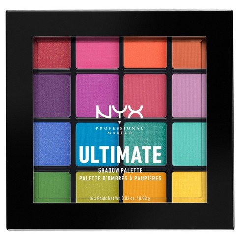 082f804657 NYX Professional Makeup Ultimate Eyeshadow Palette - 0.46oz   Target