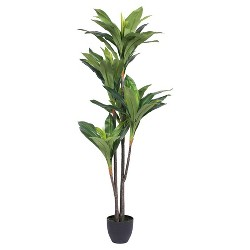 Artificial Real Touch Dracaena (5ft) Green - Vickerman