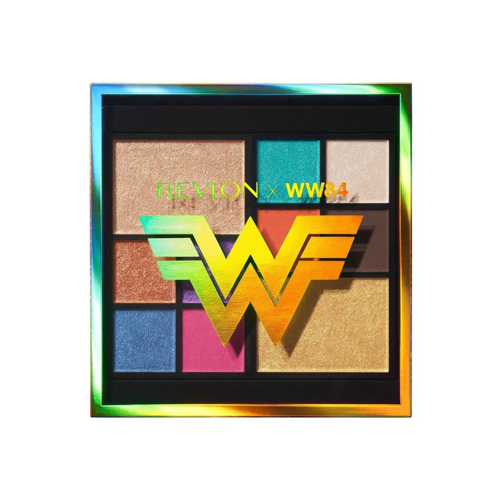 Coupons Revlon X Wonder Woman 84 The Wonder Woman Face & Eye Palette - 0.37oz