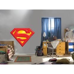 "Fathead Superman Logo Wall Dcor  37Lx49W"""