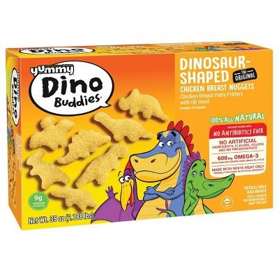 Yummy Dino Buddies Chicken Breast Nuggets - Frozen - 35oz/56ct