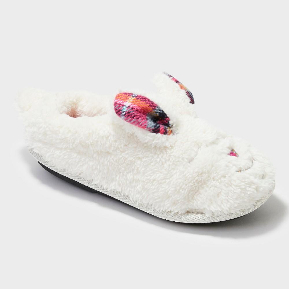 Girls' Dearfoams Slide Slippers - Light Brown 11-12