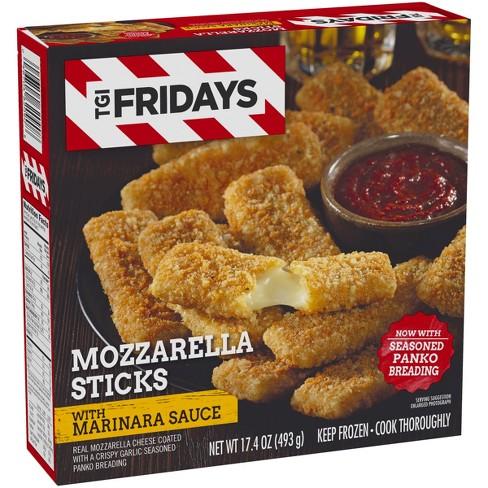T G I  Friday's Frozen Mozzarella Sticks with Marinara Sauce - 17 4oz